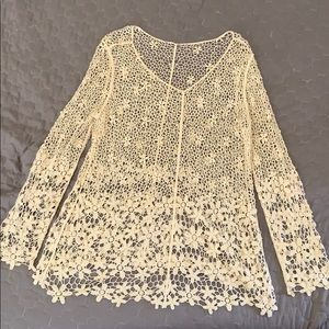 Layering knit top